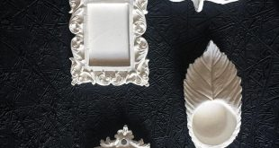 اعمال يدوية بالجبس , اجمل النقشات والاشكال بالجبس باليد