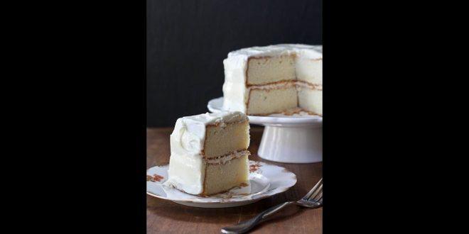 صور طريقة عمل كيك بالكريمة البيضاء , طريقة تحضير الكيك بالكريمة