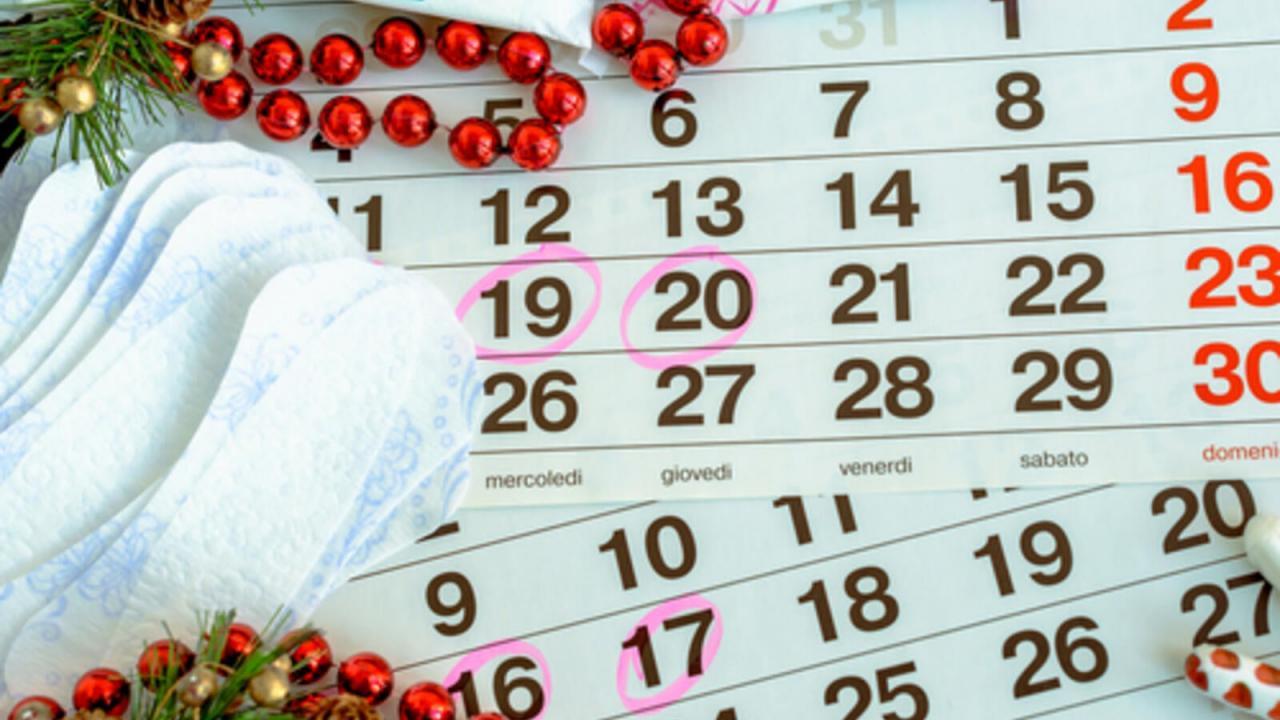 صورة كم يوم بين الدورة الشهرية والاخرى , ما مده الدورة بين شهر و شهر اللي بعده