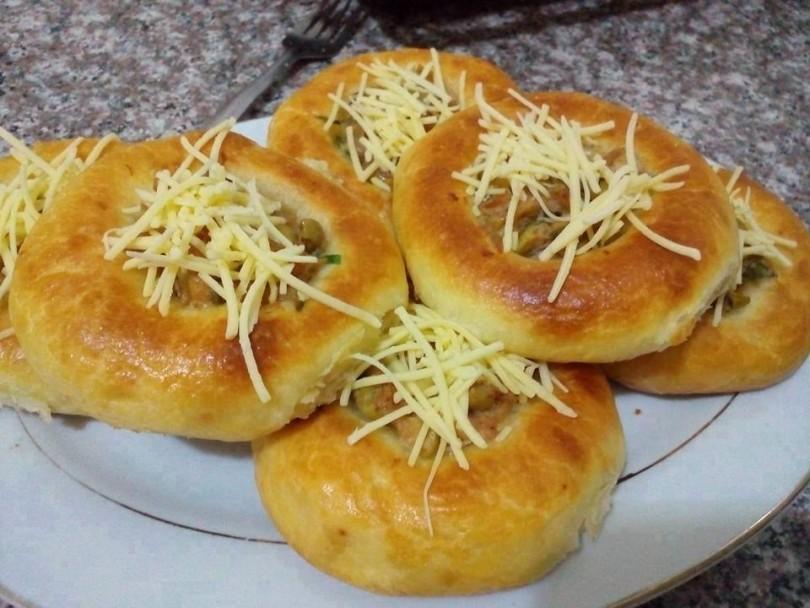 صورة خبز محشي بالصور , انواع الخبز المحشي