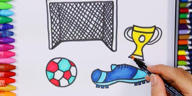 صورة تعبير عن هواية كرة القدم , كرة القدم رياضة وهواية مفيدة