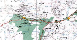 صورة خريطة وادي الدواسر , تعرف على وادي الدواسر بخريطة تفصيلية