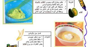 صورة اكلات للرضع 6 شهور , للاطفال 6شهور اكلات مغذية لهم