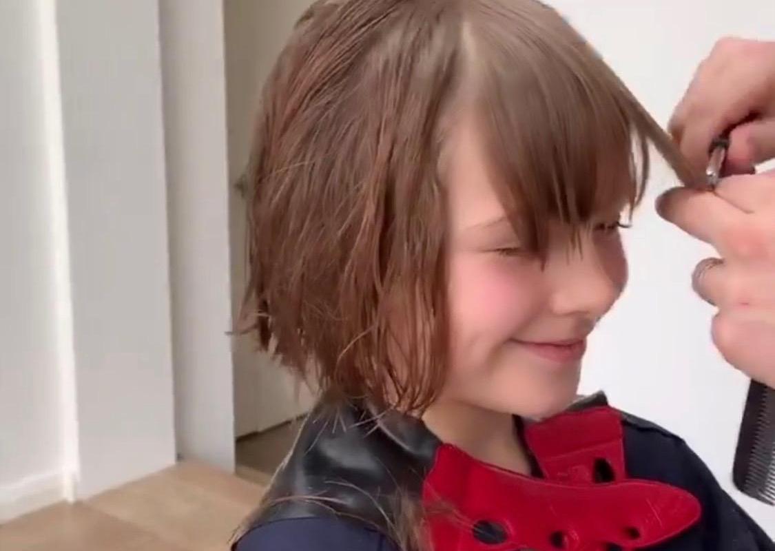 اجمل قصات شعر اطفال بنات