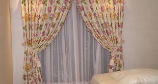 صورة ستائر اوض نوم , احدث موضة في فرش اوض النوم بالالوان الحديثة