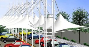 صورة مظلات مواقف سيارات , فوائد المظلات للسيارات وللناس