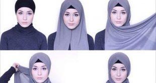 صورة الحجاب , اجمل لفات الحجاب البناتي