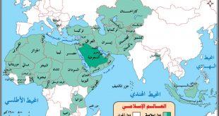 صورة خريطة العالم الاسلامي صماء , الدول ذات الغالبيه الاسلاميه