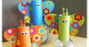 صورة اعمال يدوية بسيطة للاطفال , افكار جميله تسعد طفلك