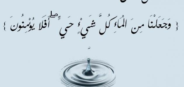 صورة موضوع عن اهمية الماء , الماء هو سر الحياه