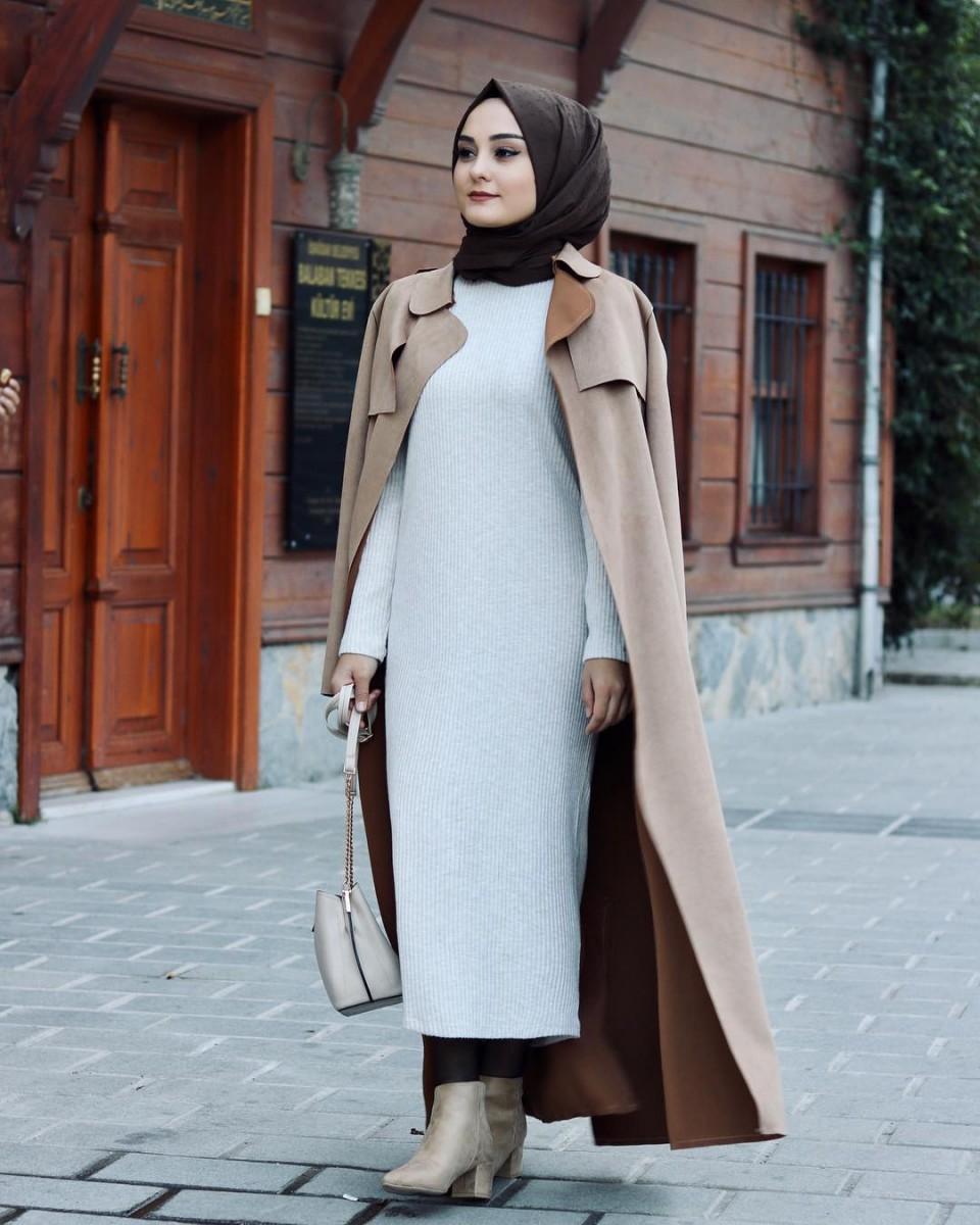 صورة احسن ملابس محجبات , شوف اجمل موضة للمحجبات