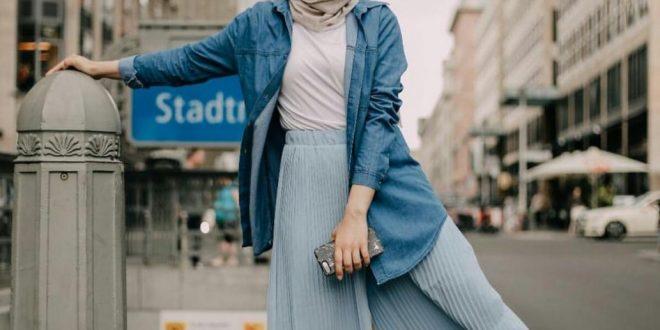 صورة ملابس محجبات كاجوال صيف 2019 , شوفي ايه احدث موضه البنات في اللبس