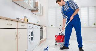 صورة طريقة تنظيف سيراميك المطبخ , افضل الطرق لازالة اوساخ سيراميك المطبخ