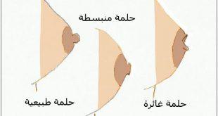 صورة تكبير حلمة الثدي , طريقه طبيعية وسهلة لتكبير حلمة الثدي