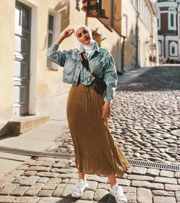 صورة صور ملابس بنات محجبات , اشيك موضة للبس البناتي بالحجاب