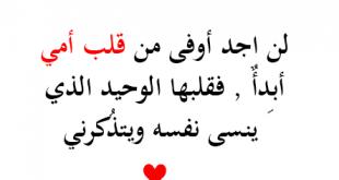 صورة فرح قلب امك بهذه البوستات , كلمات عن تضحية الام