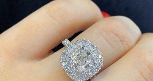 صورة ارتدي اغلي خواتم الماس بتصميم لامع , اجمل خواتم الماس