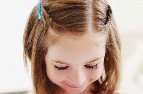 صورة طريقة قص شعر الاطفال فرنسي , طريقة قص شعر ابنتك قصة كاريه فرنسي