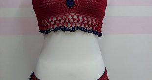 صورة البسي لانجيري غير تقليدي , قميص نوم كروشيه