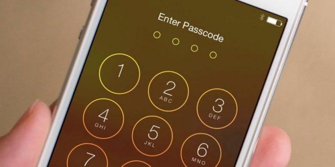 صورة طريقة فتح الايفون المقفل , اذا نسيت كلمه السر في الايفون شاهد السر