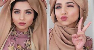 صورة لفات حجاب حديثة , صور بنات مصر محجبات